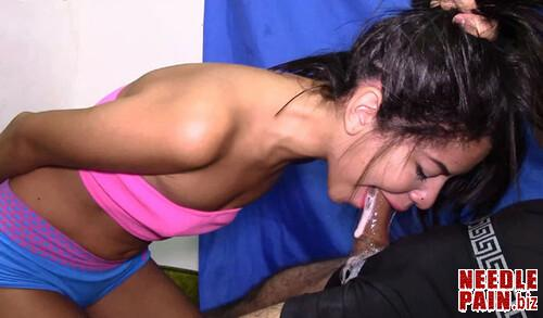 Deep Throat Fucking Front Bondage Samantha 150D m - Deep Throat Fucking Front Bondage Samantha 150D - HD Last